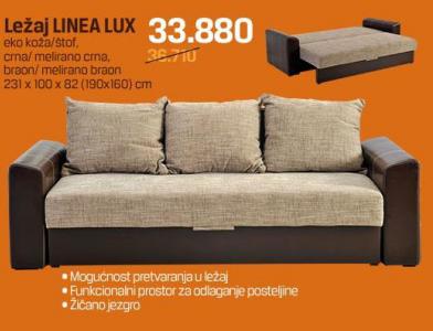 Ležaj Linea Lux