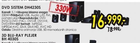 DVD sistem DH-4230S