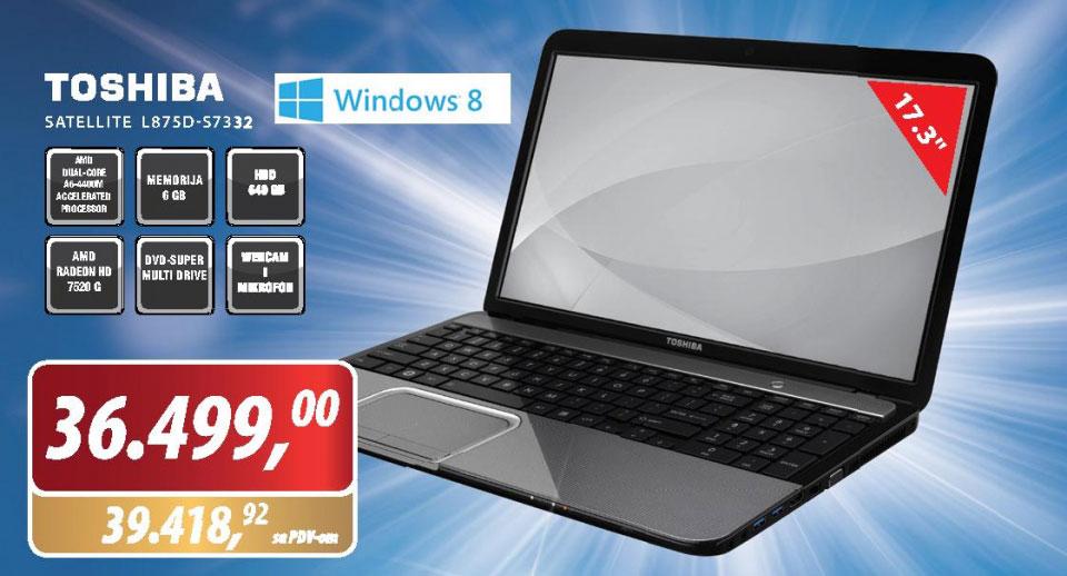 Laptop Satellite L875D-S7332