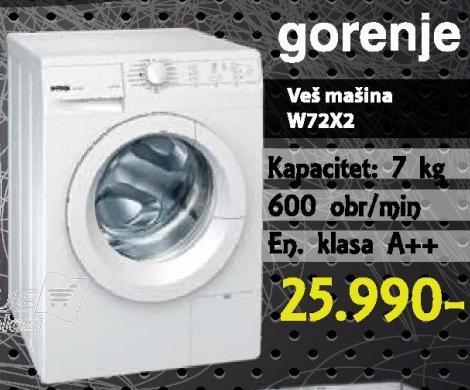 Mašina Za Veš W72x2