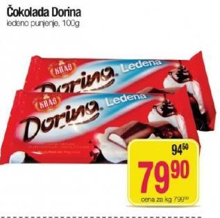 Čokolada ledeno punjenje