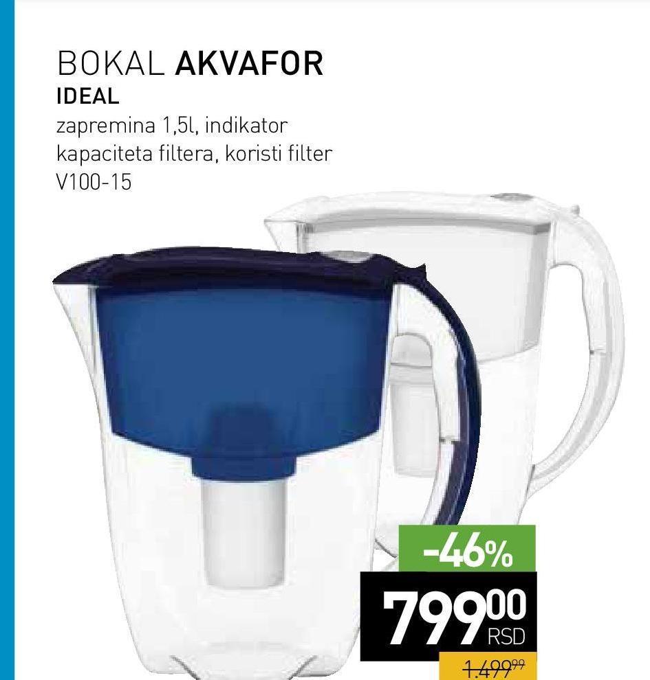Bokal Akvafor ideal