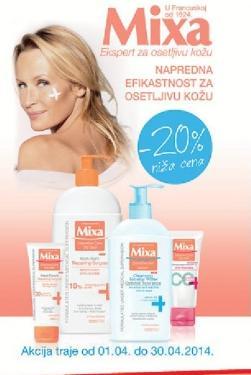 Mixa expert za osetljivu kožu