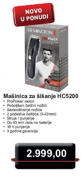 Aparat za šišanje Hc5200
