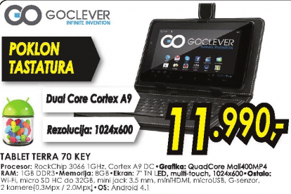 Tablet TERRA 70 KEY