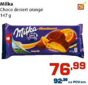 Biskvit choco orange