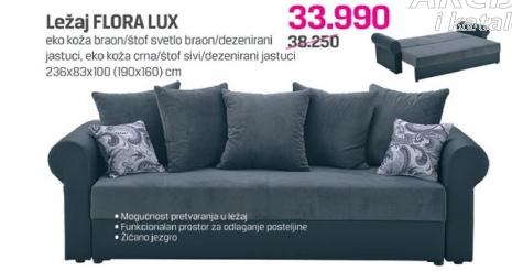 Ležaj Flora Lux
