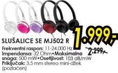 Slušalice Se Mj502r
