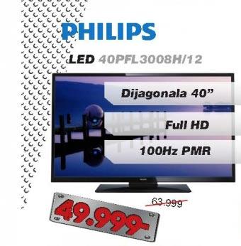 LED Televizor 40PFL3008H/12