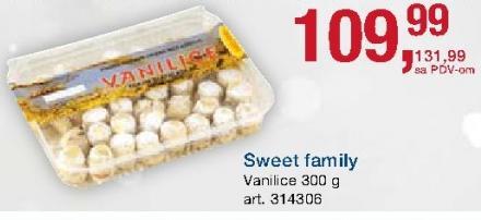 Kolači vanilice