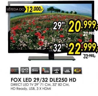 "Televizor LED 29"" 29DLE250 Hd"