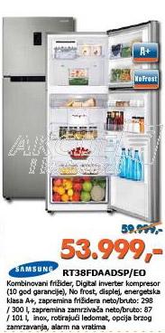 Kombinovani frižider RT38FDAADSP/EO