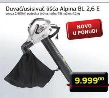 Duvač/usisivač lišća Alpina BL 2,6 E
