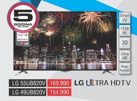 """Televizor LED 55"""" 3D 55ub820v"""