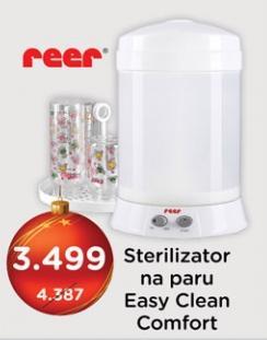 Sterilizator na paru Easy Clean Comfort Reer