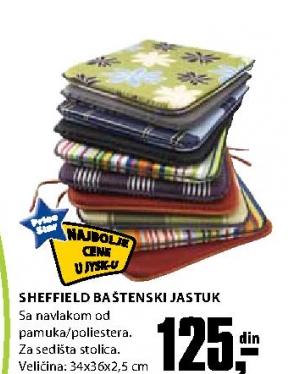 SHEFFIELD BAŠTENSKI JASTUK