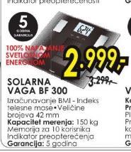 Vaga solarna BF 300