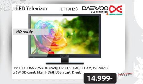 LED Televizor ET19H2B