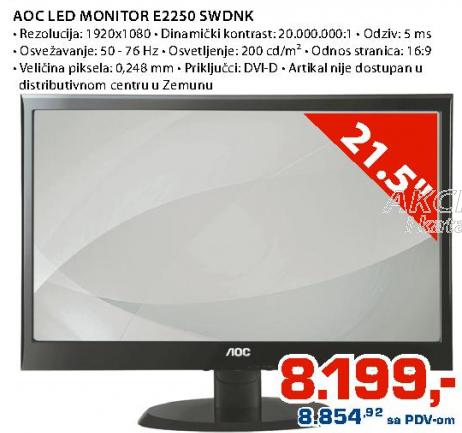 LED Monitor AOC E2250 SWDNK