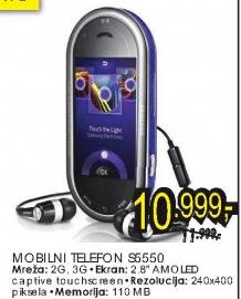 Mobilni telefon S5550