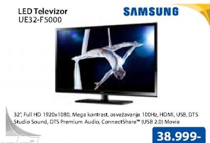 "Televizor LED 32"" UE32-F5000"