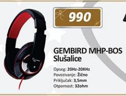 Slušalice MHP-BOS