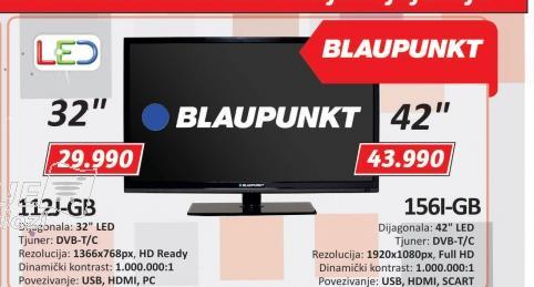 Televizor LED 156l-GB