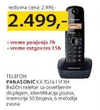 Telefon KX-TG 1611 FXH