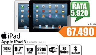 iPad 3 Cellular 32GB