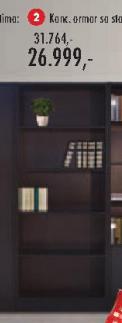Kancelarijski ormar sa staklom