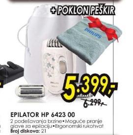 Epilator HP6423/00