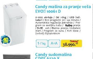 Mašina za veš EVOT10061D