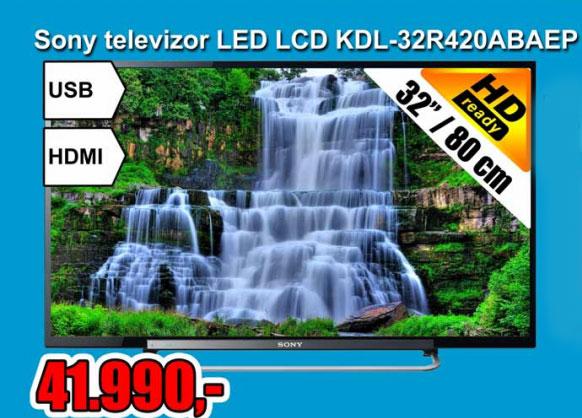 LED Televizor KDL-32R420ABAEP