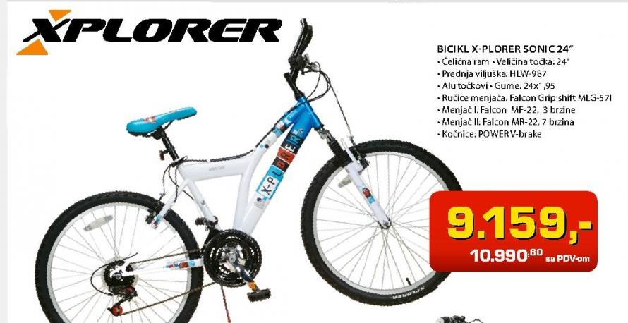 "Bicikl Sonic 24"""