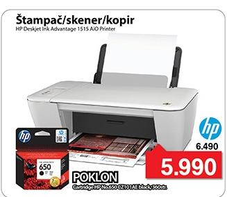 Štampač DeskJet Ink Advantage 1515
