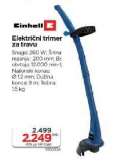 Električni Trimer za travu