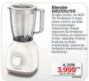 Blender HR 2100/00