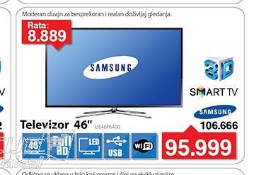 Televizor LED UE46F6400