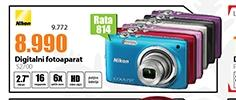 Digitalni foto-aparat Nikon S2700
