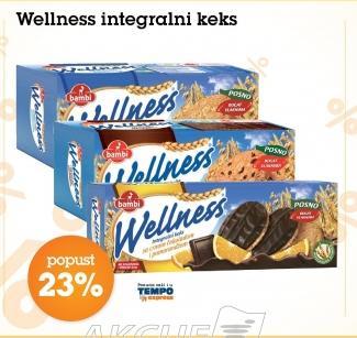 23% popusta na Wellness integralni keks