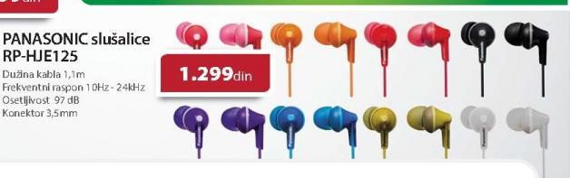 Slušalice RP-HJE125