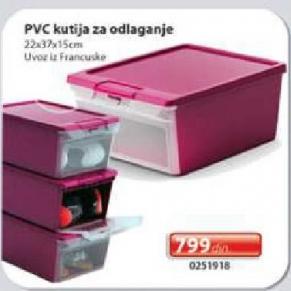 PVC kutija za odlaganje