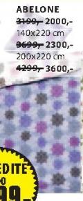Set posteljine Abeline 200x220cm