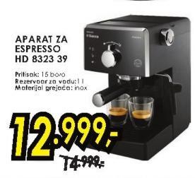 Aparat za espresso Hd 8323 39