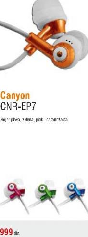 Slušalice CNR-EP7