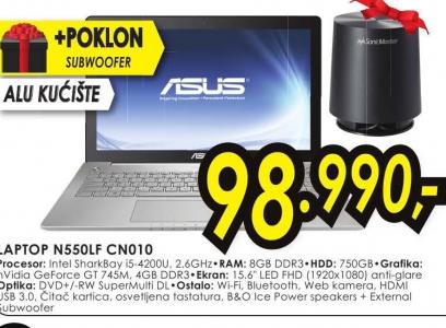Laptop N550LF-CN010