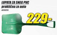 Lopata za sneg PVC za auto