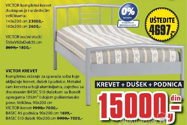 Krevet Victor