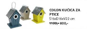 Kućica za ptice COLON