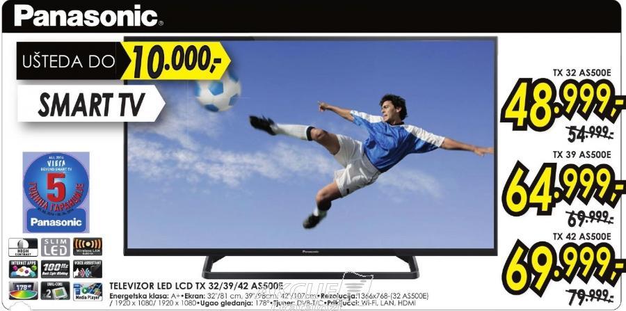"""Televizor LED 39"""" Tx39 As500e"""